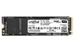 Bild zu Crucial P1 500GB 3D NAND NVMe PCIe M.2 SSD (interne Festplatte) für 59€ (Vergleich: 68,93€)