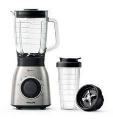 Bild zu Philips HR3556/00 Standmixer (900 Watt, ProBlend 6 Technologie, 2 Liter Glasbehälter, Spülmaschinenfest, Edelstahl) für 62,99€ (Vergleich: 105,56€)