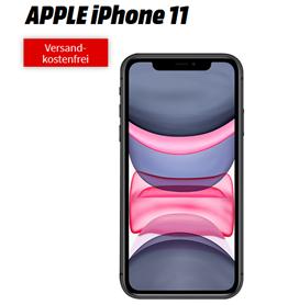 Bild zu APPLE iPhone 11 64GB für 19€ mit 26GB LTE Datenflat, SMS und Sprachflat im Vodafone-Netz für 39,99€/Monat