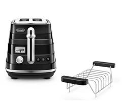 Bild zu De'Longhi Avvolta Zweischlitz-Toaster für 58,50€ (Vergleich: 79,50€)
