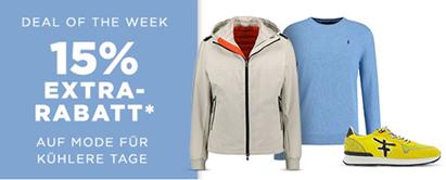 Bild zu Engelhorn: 15% Rabatt auf Mode für kühlere Tage
