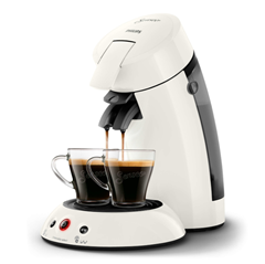 Bild zu PHILIPS Original Senseo HD6554/10 Kaffeepadmaschine für 44,99€ (Vergleich: 59,90€)