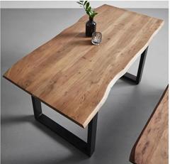 Bild zu Esstisch aus Akazie Echtholz ca.160x85cm 'Malmo' für 209,30€