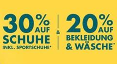 Bild zu Galeria.de: 30% Rabatt auf Schuhe und 20% Rabatt auf Bekleidung & Wäsche