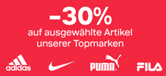Bild zu Deichmann: 30% Rabatt auf ausgewählte Topmarken