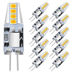 Bild zu 10er Pack KINGSO G4 LED Stiftsockellampe (3W 250lm Warmweiß 3000K ersetzen Halogenbirnen 25W) für 9,49€