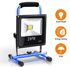 Bild zu wolketon LED Akku Baustrahler in versch. Ausführungen mit 38% Rabatt