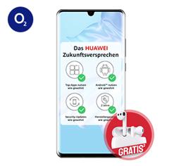 Bild zu Huawei P30 Pro inkl. FreeBuds 3 Kopfhörer für 99€ mit 20GB LTE, SMS und Sprachflat im o2 Netz für 23,99€/Monat