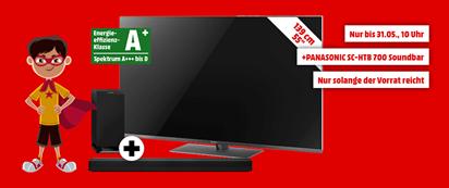 "Bild zu PANASONIC TX-55FXW784 (55"") LED TV + PANASONIC SC-HTB 700 Soundbar für 1.199€ (Vergleich: 1.387,23€)"