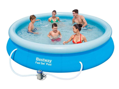 Bild zu Bestway Fast Set Pool Mitch (366 x 76 cm) für 55,95€ (Vergleich: 69€)