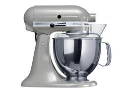 Bild zu KITCHENAID Artisan Küchenmaschine Grau (Rührschüsselkapazität: 4,8 Liter, 300 Watt) für 399€