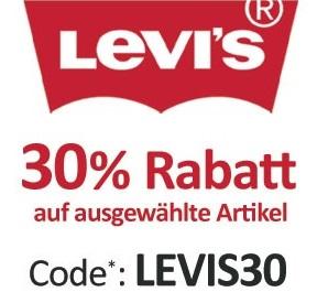 Bild zu Jeans-Direct: 30% Rabatt auf ausgewählte Levi's Artikel (MBW: 50€)