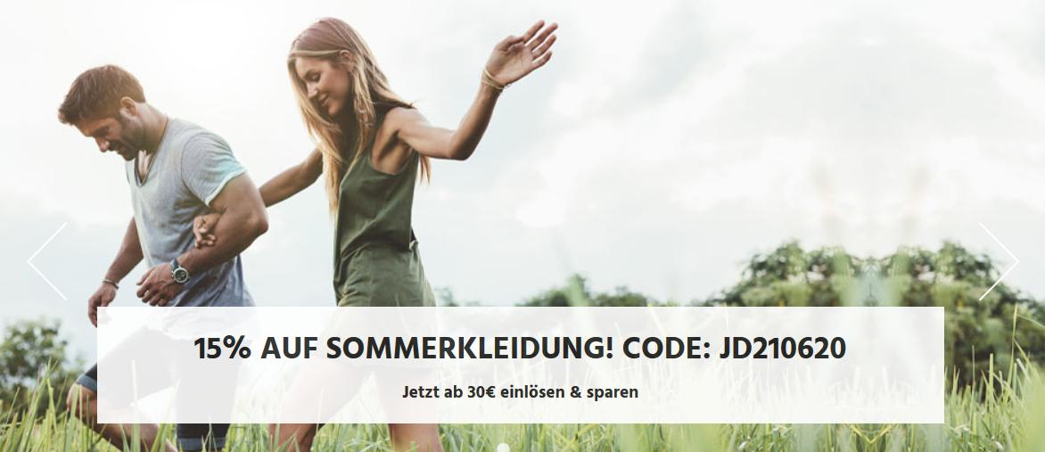 Bild zu Jeans Direct: 15% Rabatt auf Sommerkleidung