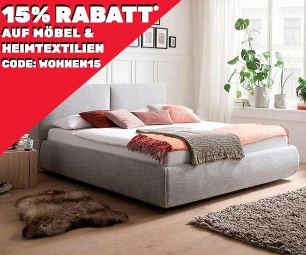 Bild zu Neckermann: 15% Rabatt auf Möbel und Heimtextilien + 0€ Versand ab 75€ MBW