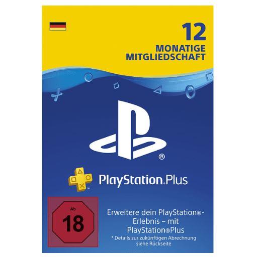 Bild zu Playstation Plus Mitgliedschaft für 12 Monate für 41,99€ (VG: 59,99€)