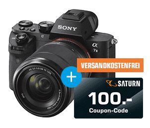 Bild zu SONY Alpha 7 M2 Kit (ILCE-7M2K) + 100€ Couponcode für 899€ (VG: 999€)