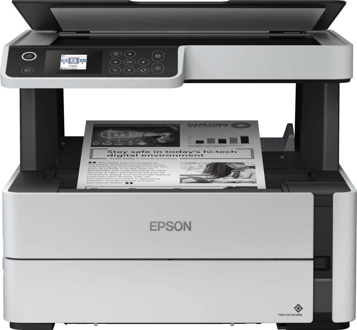Bild zu Epson EcoTank ET-M2140 Tintenstrahl-Multifunktionsgerät für 179,90€ (Vergleich: 239,90€)