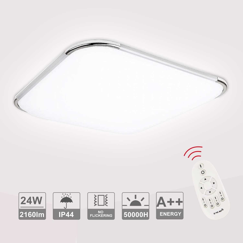 Bild zu Dimmbare Hengda LED-Deckenleuchte mit 2.160 Lumen für 24,49€