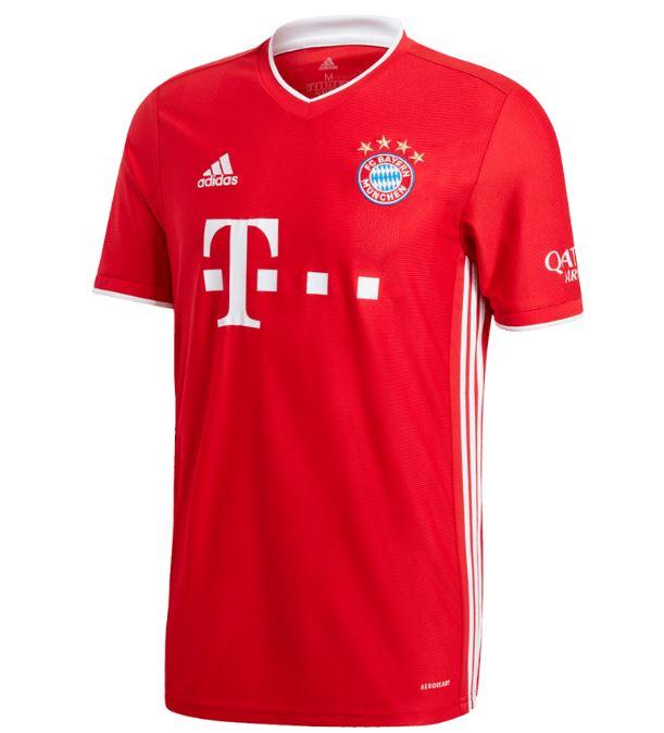 Bild zu FC Bayern München Herrentrikot Saison 2020/21 für nur 62,96€ dank 25% Rabatt Gutschein