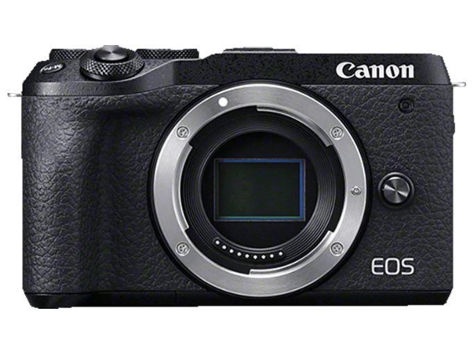 Bild zu CANON EOS M6 Mark II Gehäuse (32.5 Megapixel, 7,5 cm Display Touchscreen, WLAN) für 684,70€ (VG: 859€)