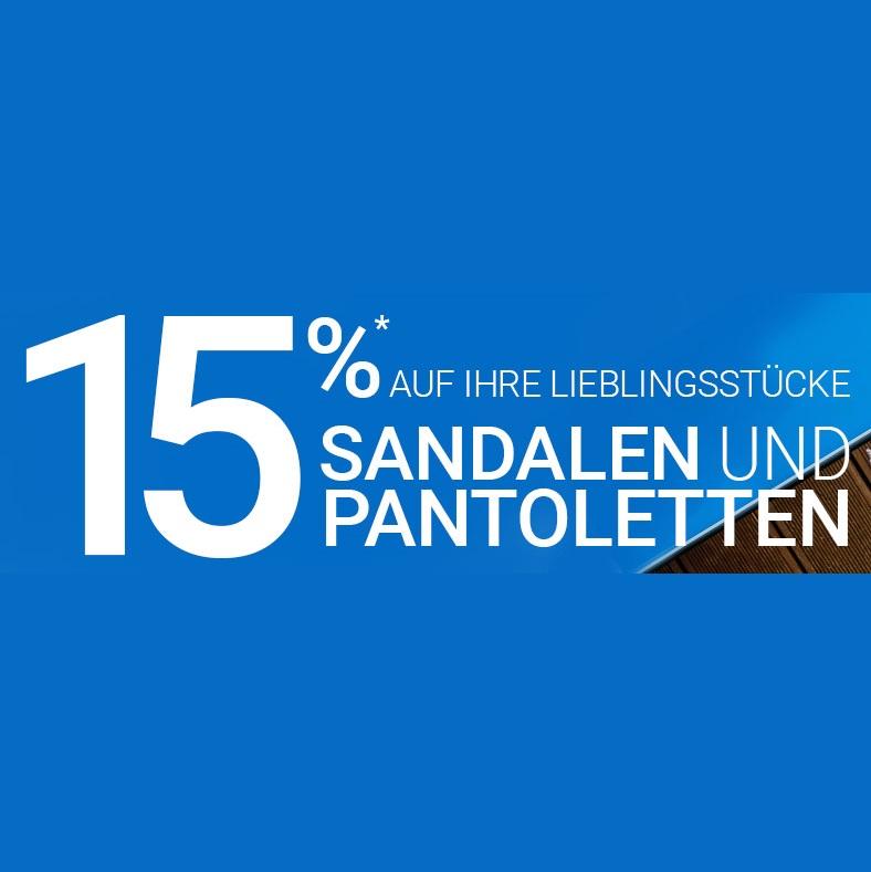 Bild zu Gebrüder Götz: 15% Rabatt auf Sandalen und Pantoletten
