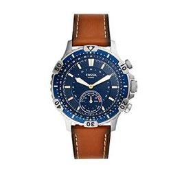 Bild zu Fossil Herren Hybrid Smartwatch Garret mit braunem Lederarmband für 85€ (VG: 159€)