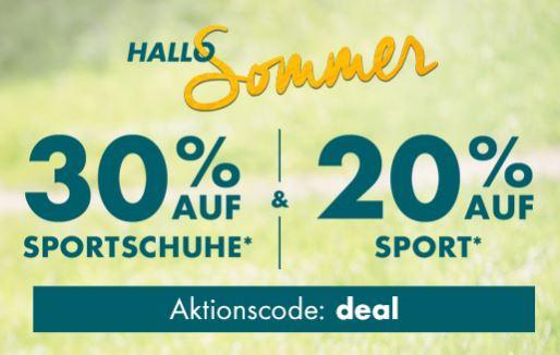 Bild zu Galeria: 30% Rabatt auf Sport Schuhe, sowie 20% Rabatt auf Sportartikel