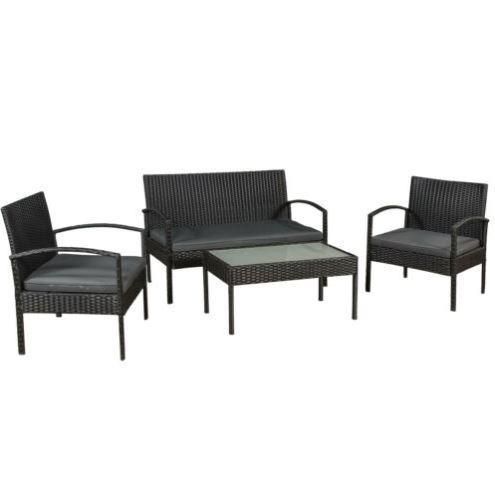 Bild zu Gartenmöbel Polyrattan Sitzgruppe Trinidad für 139,95€ (VG: 189,95€)