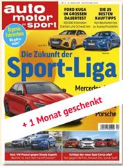 """Bild zu Schnupperabo für 4 Monate (8 Ausgaben) """"Auto Motor und Sport"""" für 27,30€ inkl. 30€ BestChoice Gutschein"""