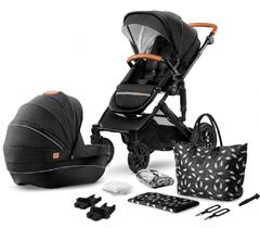 Bild zu Kinderkraft Kinderwagen Prime 2-in-1 Black (2020er Modell, inkl. Wickeltasche) für 345,79€ (Vergleich: 428,99€)