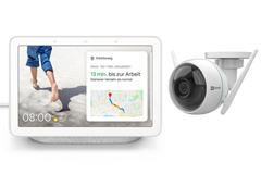 Bild zu EZVIZ C3WN Überwachungskamera + Google Nest Hub für 89€