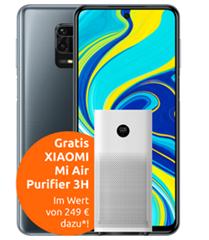 Bild zu Xiaomi Redmi Note 9S für 4,99€ (VG: 197,99€) inkl. gratis Xiaomi Smart Air Purifier 3H Luftreiniger (VG: 164,99€) mit 4GB LTE Datenflat, SMS und Sprachlat im Vodafone Netz für 14,99€/Monat