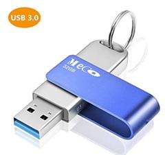 Bild zu MECO ELEVERDE USB 3.0 Stick 32GB aus Aluminium mit Schlüsselring für 6,50€