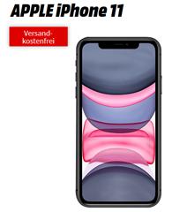 Bild zu APPLE iPhone 11 für 49€ mit 18GB Telekom LTE Datenflat, SMS und Sprachflat für 36,99€/Monat
