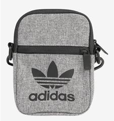 Bild zu adidas Umhängetasche 'Mel Fest' grau/schwarz für 11,69€ (Vergleich: 16,34€)