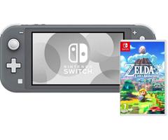 Bild zu Nintendo Switch Lite (Grau) + Zelda Links Awakening für 221,98€