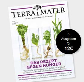 """Bild zu 6 Ausgaben der Zeitschrift """"Terra Mater"""" für 12€ (anstatt 39€)"""