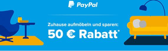 Bild zu Home24: 50€ Rabatt ab 250€ Bestellwert bei Zahlung per Paypal
