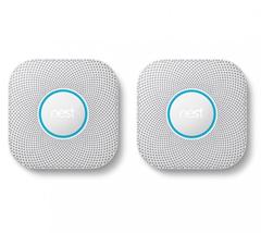 Bild zu Doppelpack Google Nest Protect Rauch- und Kohlenmonoxidmelder (2. Generation) für 199,95€ (Vergleich: 237,80€)