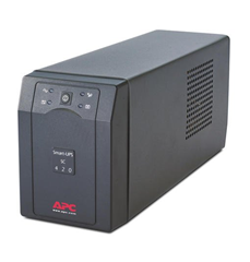 Bild zu APC Smart-UPS SC 420VA (230V) Unterbrechungsfreie Stromversorgung (Line Interactive, 4 Ausgänge IEC-C13, Shutdown Software) für 129,90€ (Vergleich: 170,80€)