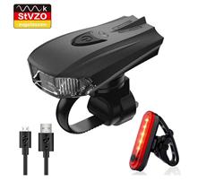 Bild zu Pezimu LED Fahrradlicht Set (StVZO Zugelassen) für 11,96€