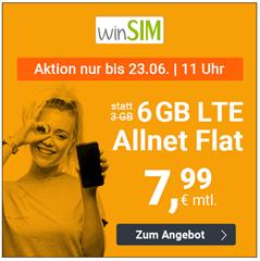 Bild zu o2-Netz mit 6GB LTE Datenflat, SMS und Sprachflat für 7,99€/Monat (3 Monate Kündigungsfrist)