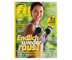 """Bild zu 12 Ausgaben der Zeitschrift """"Fit For Fun"""" für 43,20€ inkl. 35€ Verrechnungscheck für den Werber"""