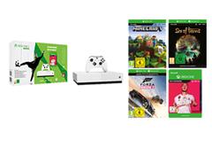 Bild zu Xbox One S 1TB – All Digital Edition + FIFA 20 für 129,99€ (Vergleich: 213,99€)