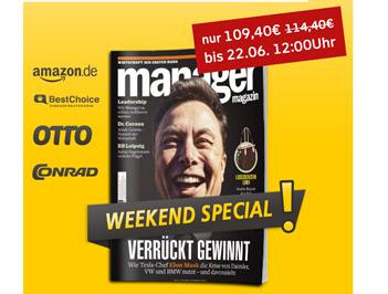 Bild zu Jahresabo Manager Magazin für 109,40€ + bis zu 90€ Prämie