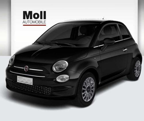 Bild zu Fiat 500 51KW Apple CarPlay, Klima, Bluetooth, schwarz '2020' für 69€/Monat