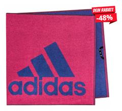 Bild zu adidas Towel S Handtuch Reamag/Actblu für 10,94€ (Vergleich: 18,94€)
