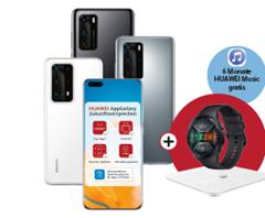 Bild zu [Top] Huawei P40 für 29€ mit o2 Free M (20GB LTE, SMS und Sprachflat) für 24,99€/Monat inkl. gratis Watch, Waage und 6 Monate Music