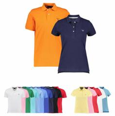 """Bild zu Gant Herren und Damen Poloshirt """"The Summer Pique"""" Kurzarm für je 34,90€"""