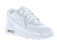 Bild zu Nike Air Max 90 Kinder Sneaker in All-White für 49,99€ (Vergleich: 62,90€)